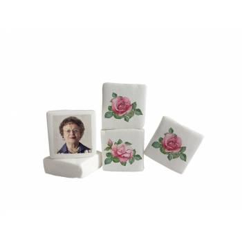 Guimize personnalisé photo Roses Vintages