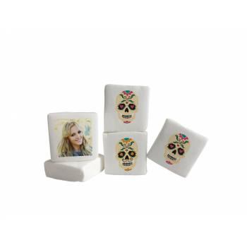 Guimize personnalisé photo décor Santa Muerte