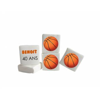 Guimize personnalisé texte décor Basket