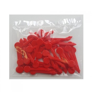 50 Piques à bonbons PM rouge