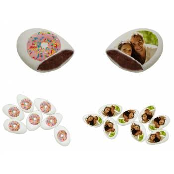 110 Dragées chocolat à personnaliser Donuts photo