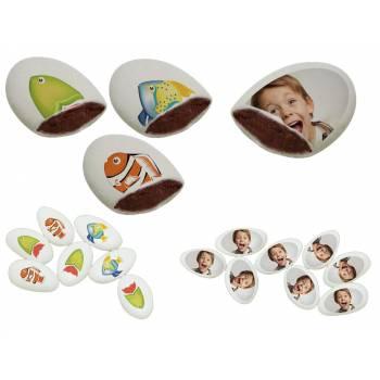 110 Dragées chocolat à personnaliser décor Poissons photo
