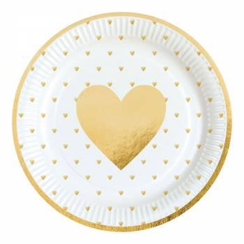 8 Assiettes love