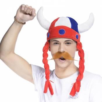 Chapeau gaulois tricolore france