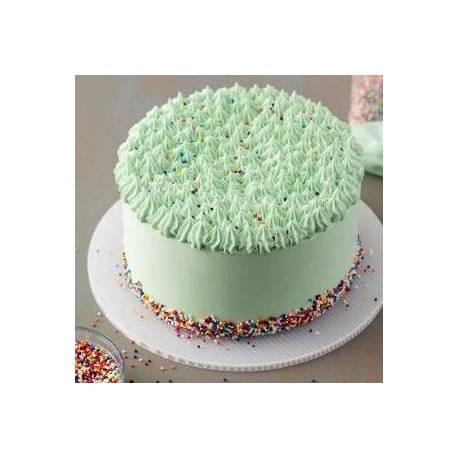 Support à gâteau cannelé en plastique blanc réutilisable et peut servir aussi bien pour les gâteaux, brownies et cupcakes que pour des...