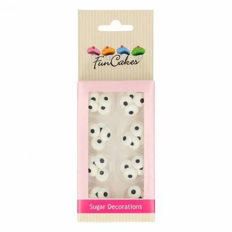 Ces 32 décors en sucre en forme d'œil de chez FunCakes sont un vrai must pour tout décorateur de gâteau ! Ces yeux vous seront toujours...
