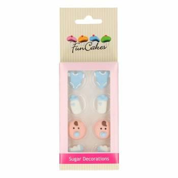Mini figurines décors sucre Baby Boy