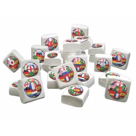 Les Guimize sont des guimauves Marshmallow illustrées La quantité est à choisir dans le menu déroulant : 32 unités ou 96 unités Elles...