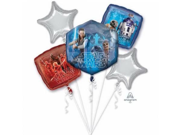 Bouquet de ballons hélium Star Wars