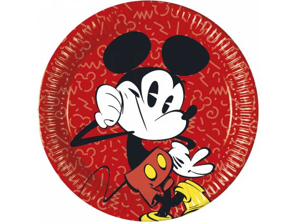 Assiettes Mickey cool