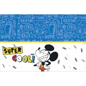 Nappe en plastique Mickey cool