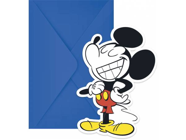 cartes invitations Mickey cool