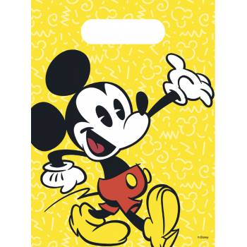 6 Sachets de fête Minnie Tropical