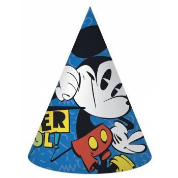 6 Chapeaux de fête Mickey cool
