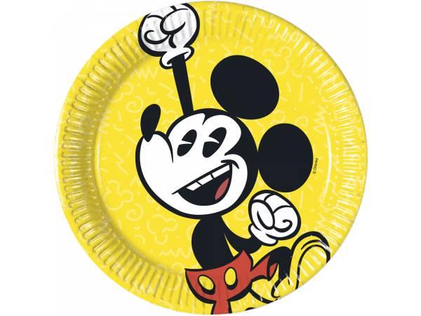Assiettes dessert Mickey cool