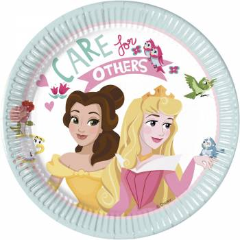 8 Assiettes dessert Princesse Disney rêves