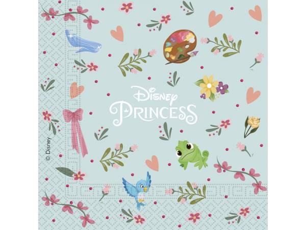 Serviettes en papier Princesse Disney rêves