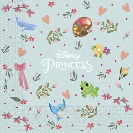 20 Serviettes Princesse Disney rêves