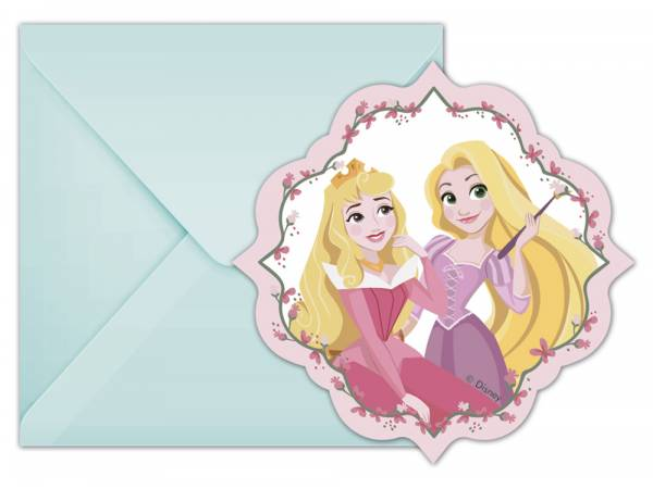 cartes invitations Princesse Disney rêves
