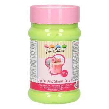 Fondant de glaçage Funcakes vert lime