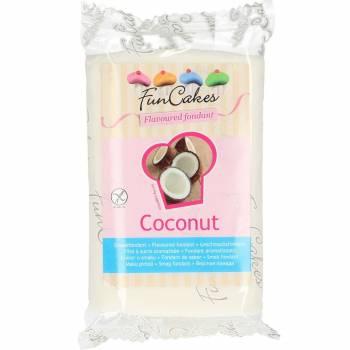 Pâte à sucre Funcakes saveur noix de coco