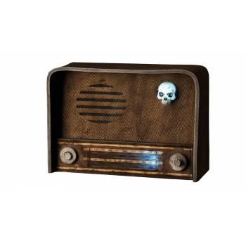 Radio halloween vintage son et lumière