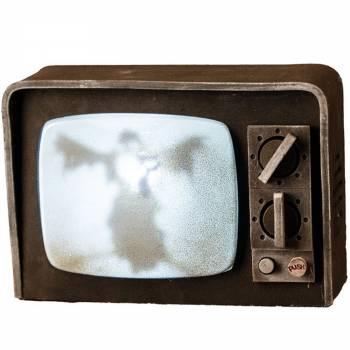 Télé halloween vintage son et lumière