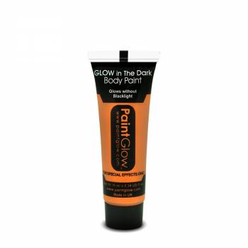 Body paint phosphorescent orange
