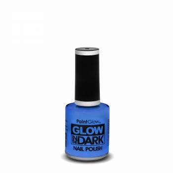 Vernis à ongles phosphorescent bleu