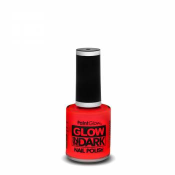 Vernis à ongles phosphorescent rouge