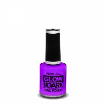 Vernis à ongles phosphorescent violet