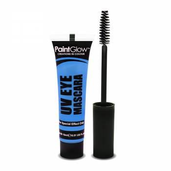 Mascara yeux UV bleu