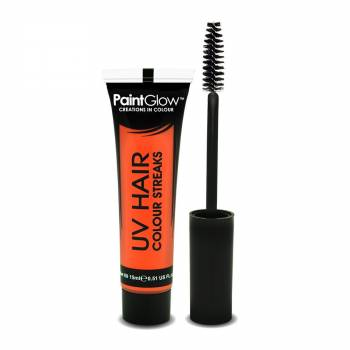 Mascara cheveux UV orange