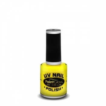 Vernis à ongles UV reactive Jaune