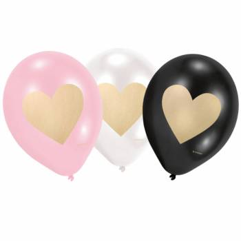 6 Ballons Love Every day