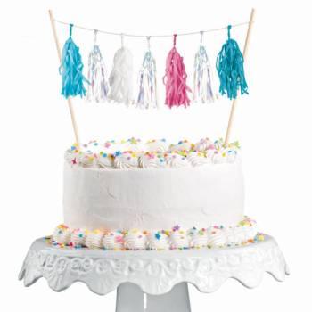 Décors de gâteau Pompons Sirène