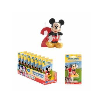 Bougie chiffre Mickey 2