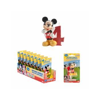 Bougie chiffre Mickey 4