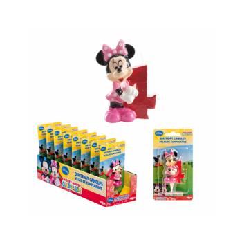 Bougie chiffre Minnie 4