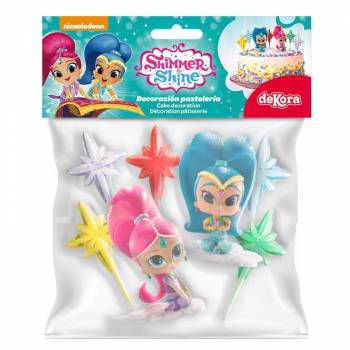 Kit décor gâteau Shimmer and Shine