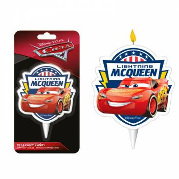Bougie 2D Cars 3
