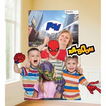 Kit photobooth Spiderman