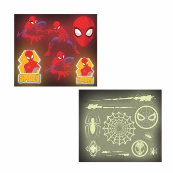 Stickers phosphorescent Spiderman