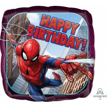 Ballon hélium birthday Spiderman