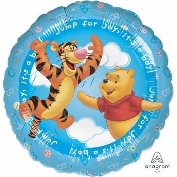 Ballon hélium winnie it's a boy