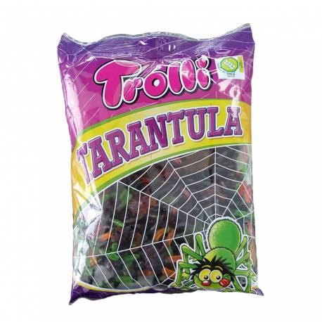 Bonbons en forme de tarentules gélifiés de la marque Trolli Idéal pour la fête d'Halloween Poids: 1Kg