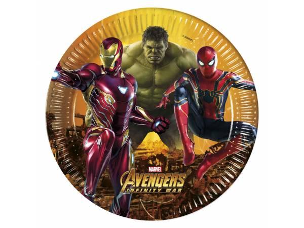 Assiettes Avengers infinity wars- deco anniversaire