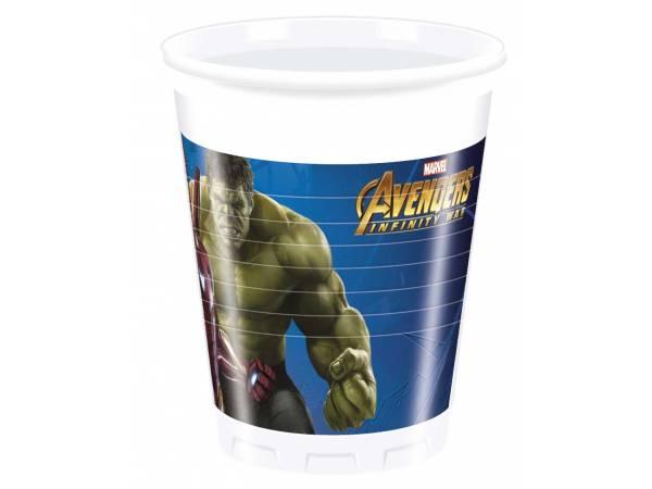 Gobelets Avengers infinity wars- deco anniversaire
