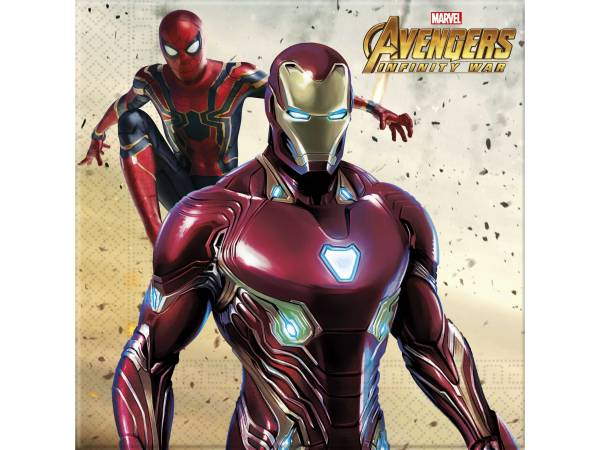 Serviettes Avengers infinity wars- deco anniversaire