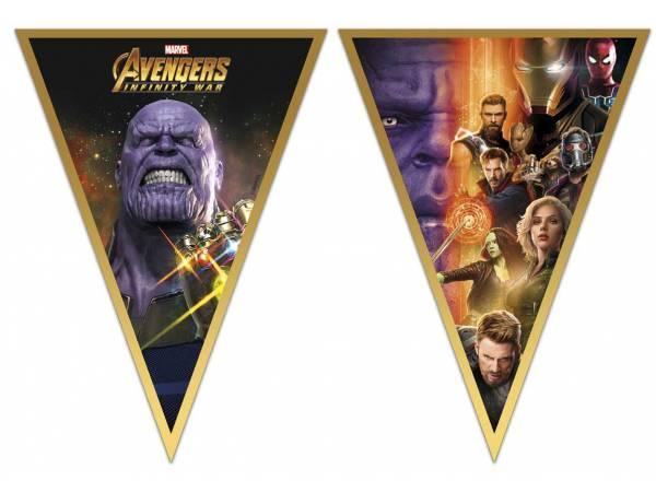Guirlande fanions Avengers infinity wars- deco anniversaire